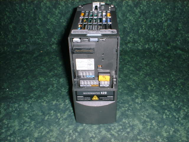 siemens micromaster 420 manual fault codes